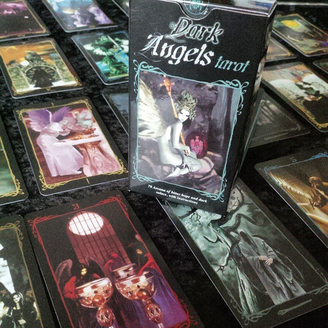 Dark Angels Tarot Deck 3