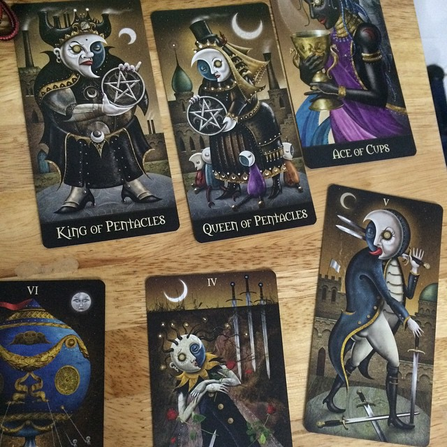 Deviant Moon Tarot Borderless 5