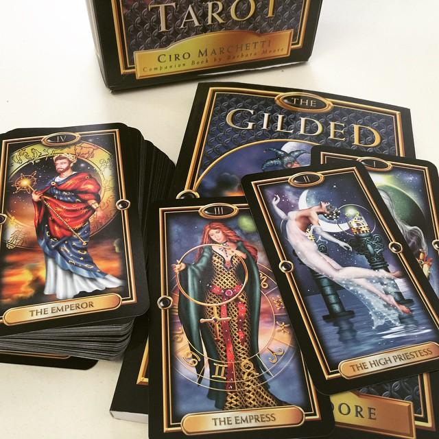 Gilded Tarot Kit 3