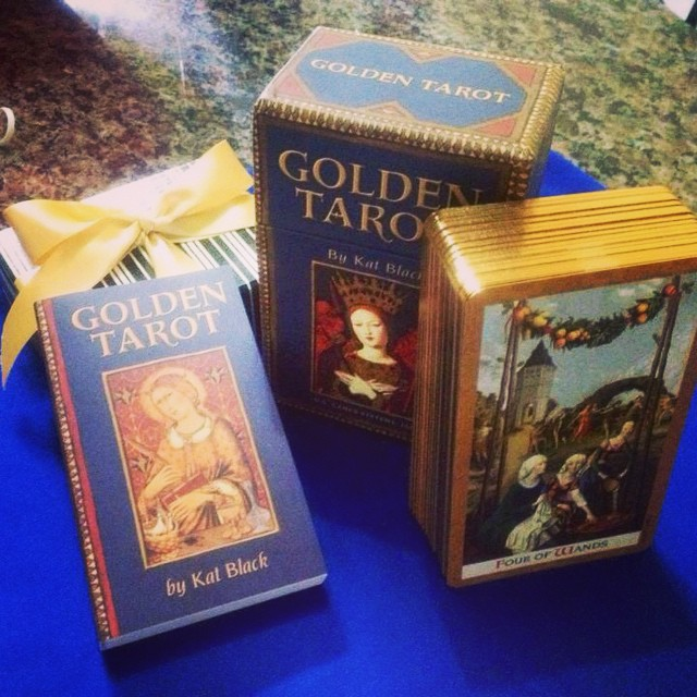 Golden Tarot 3