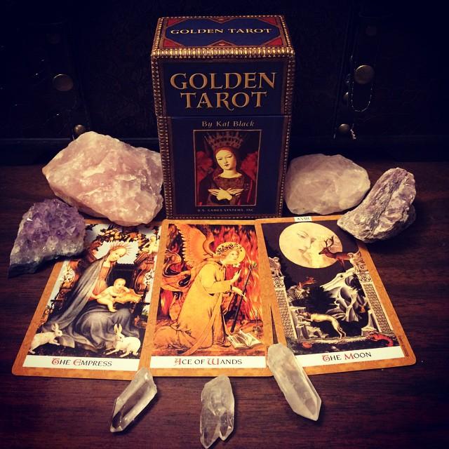 Golden Tarot