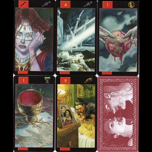 Gothic Tarot of Vampires 3