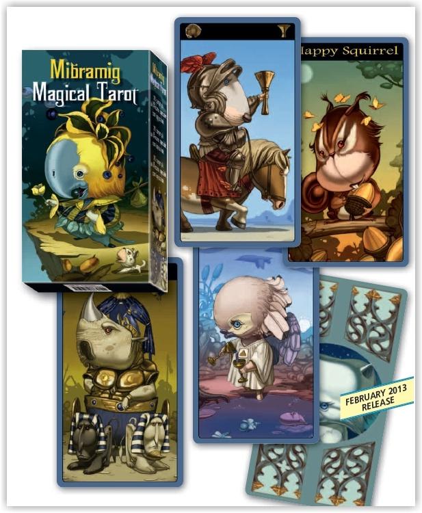 Mibramig Magical Tarot Deck 2