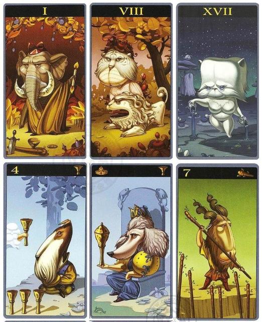 Mibramig Magical Tarot Deck 4