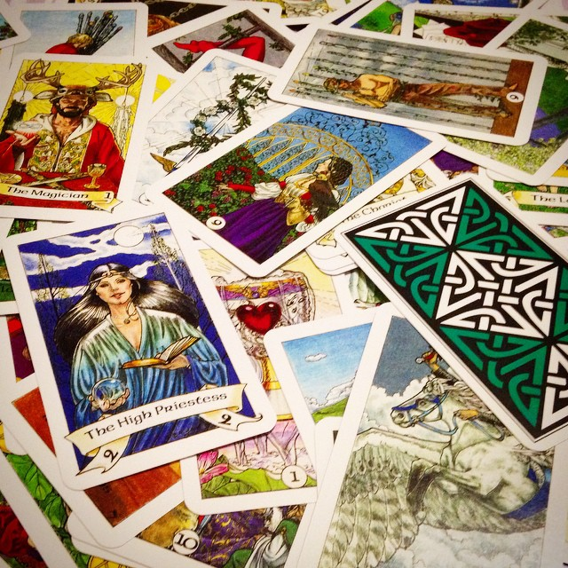 Robin Wood Tarot 4