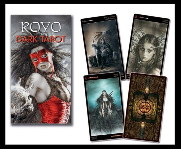 Royo Dark Tarot Deck 4