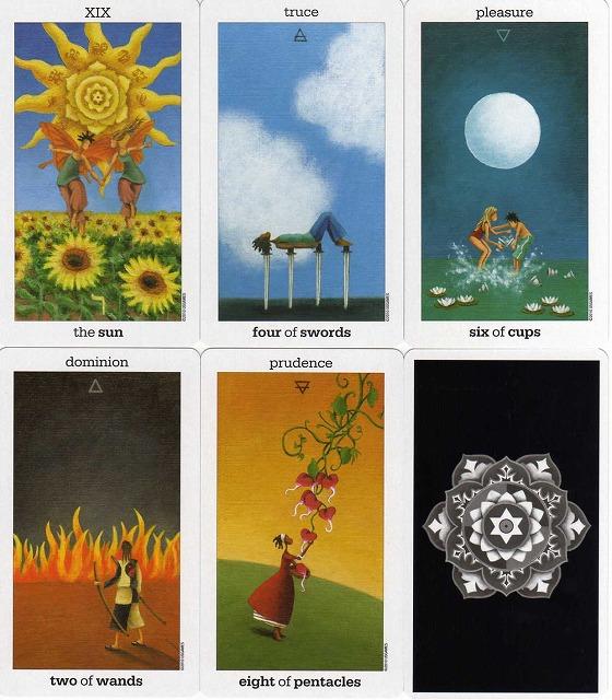 Sun and Moon Tarot 4