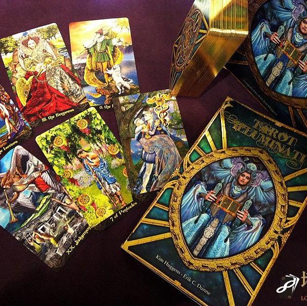 Tarot Illuminati Kit 3