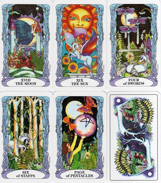 Tarot Of A Moon Garden Lt Tarot