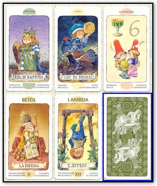 Tarot of the Gnomes 3