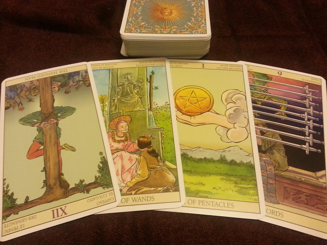 Tarot of the New Vision Deck 2