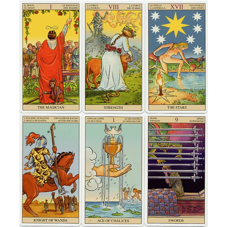 Tarot of the New Vision Deck 3