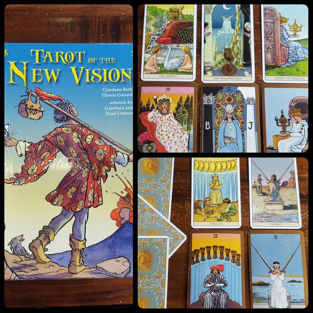 Tarot of the New Vision Kit 2
