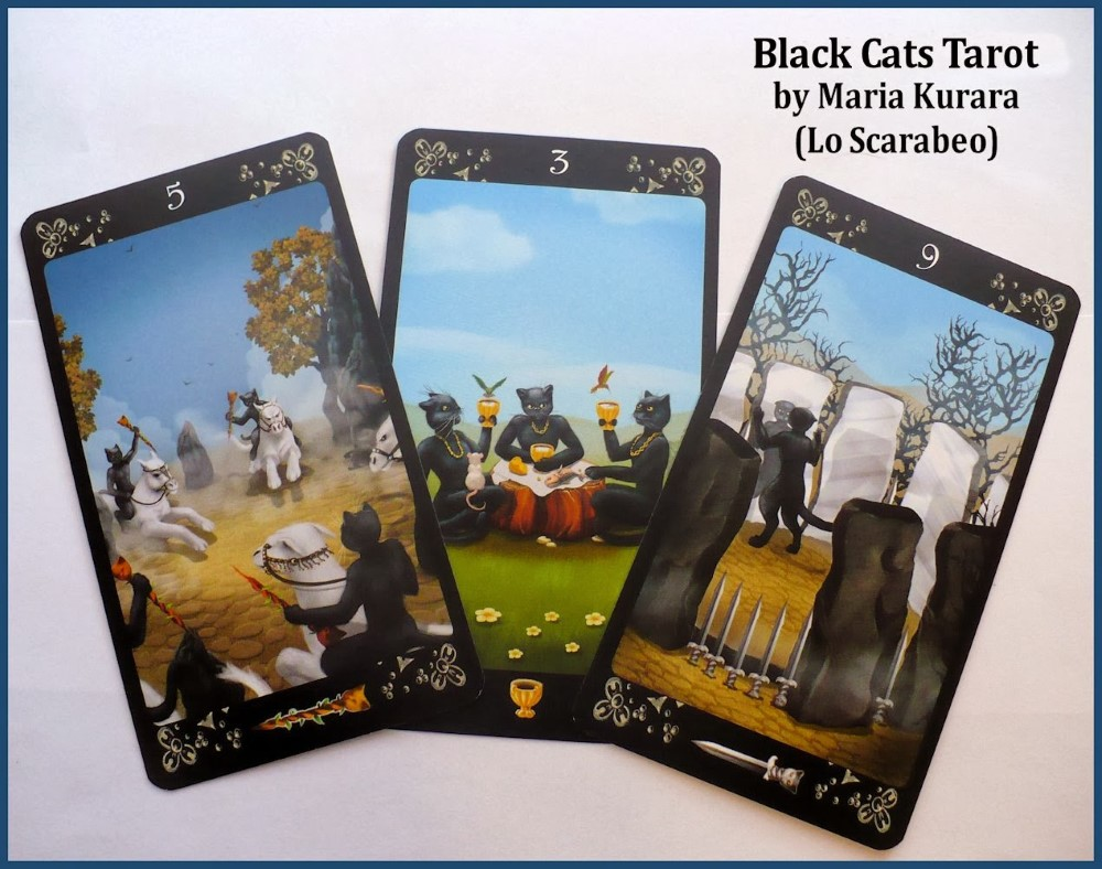 The Black Cats Tarot Deck 3