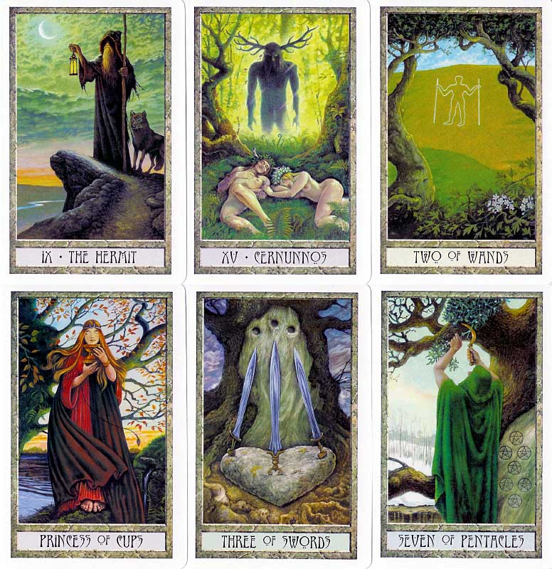 The Druid Craft Tarot Deck 4