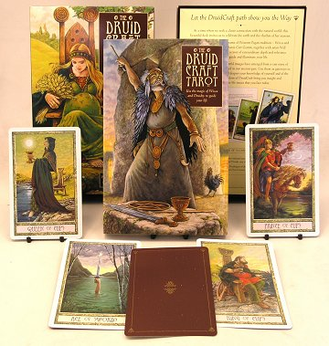 The Druid Craft Tarot Kit 2