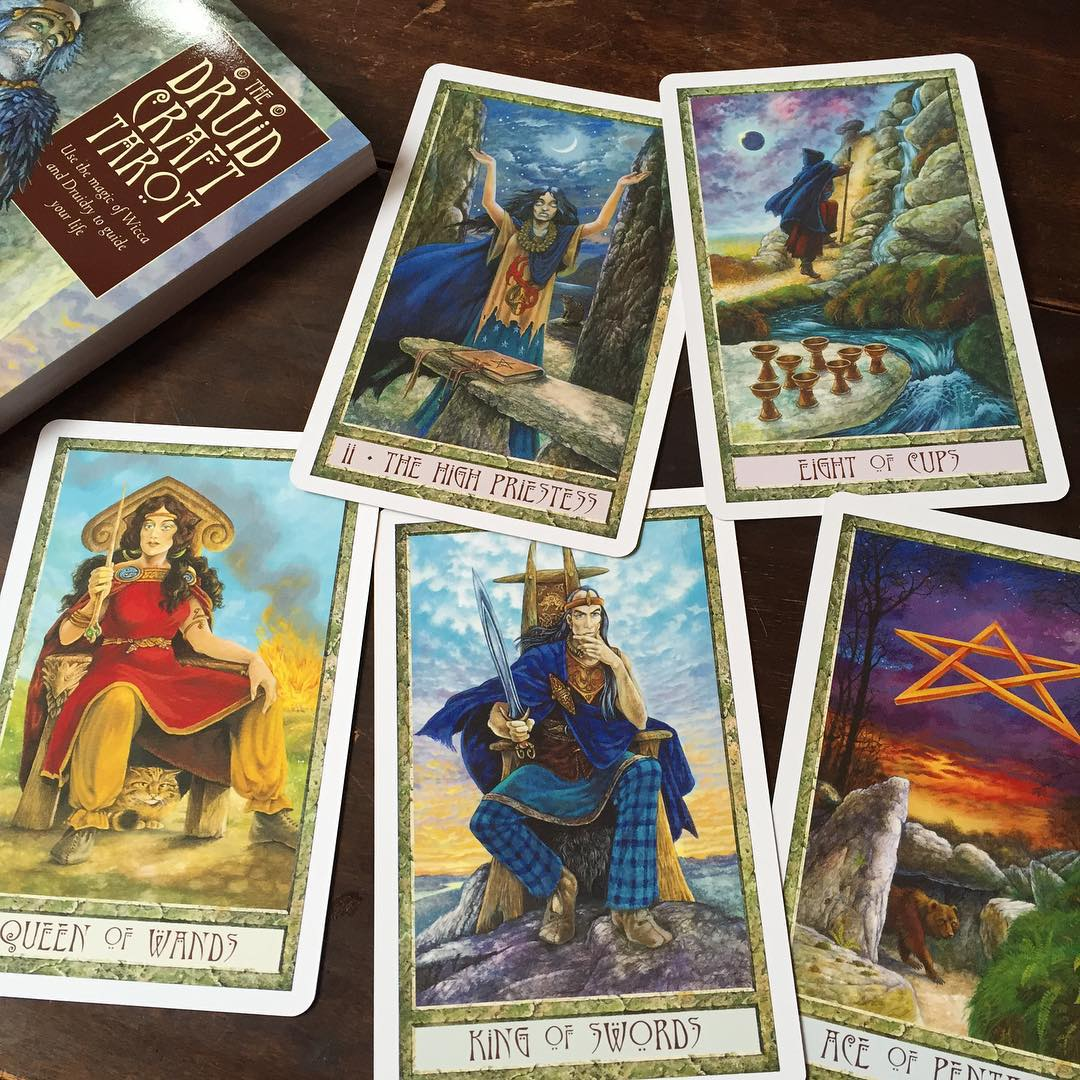 The Druid Craft Tarot Kit 3