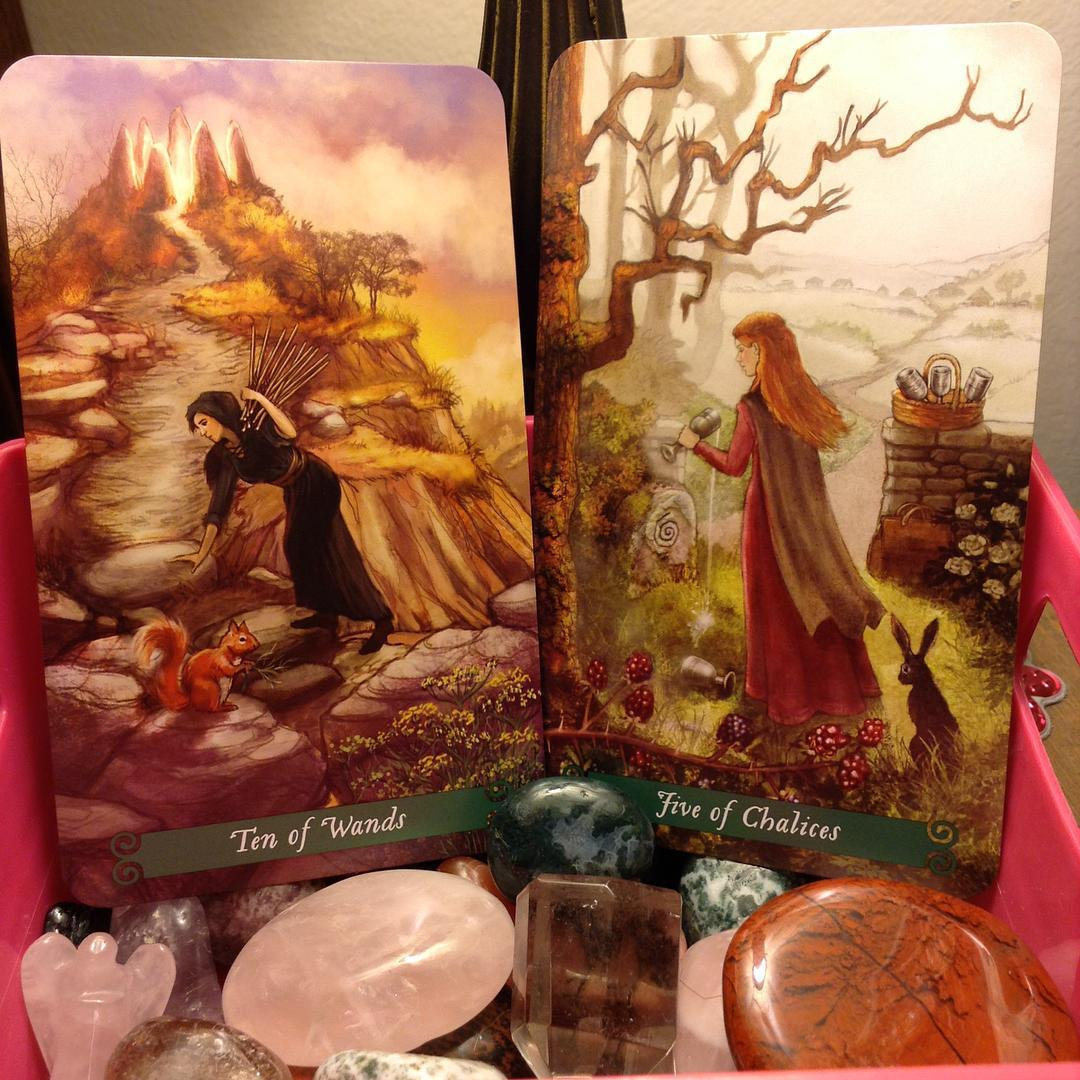 The Green Witch Tarot 5