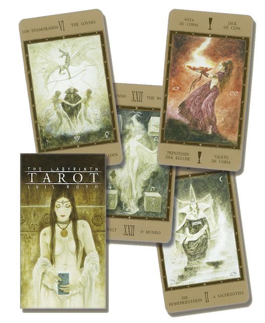 The Labyrinth Tarot 3