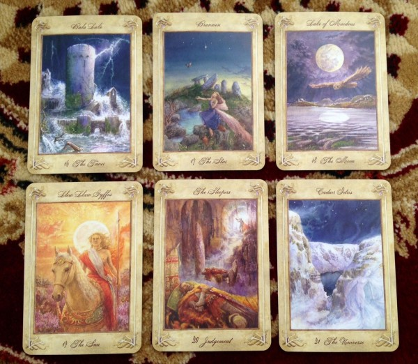 The Llewellyn Tarot 3