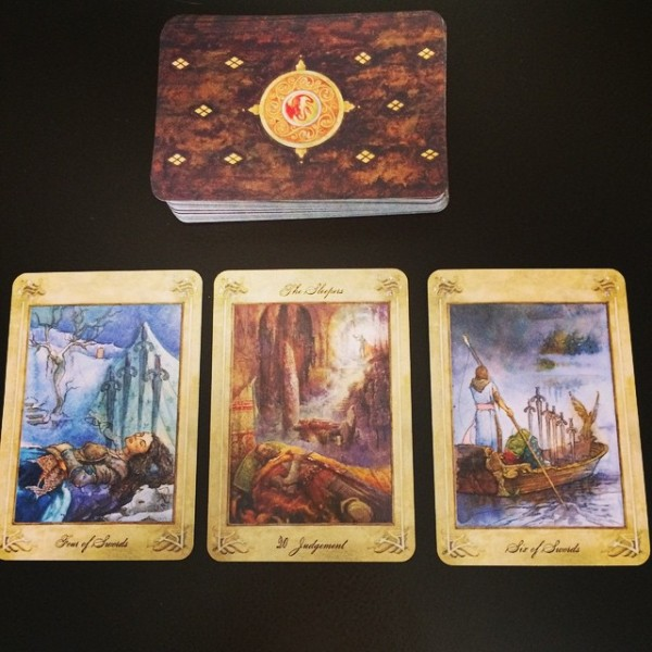 The Llewellyn Tarot 4