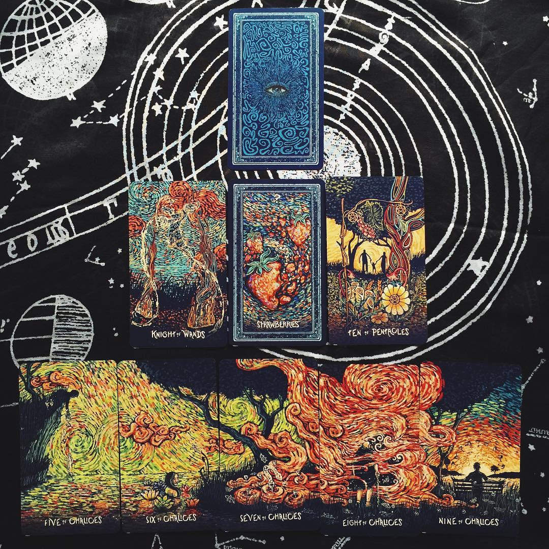 The Prisma Visions Tarot 3