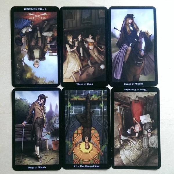 The Steampunk Tarot 4