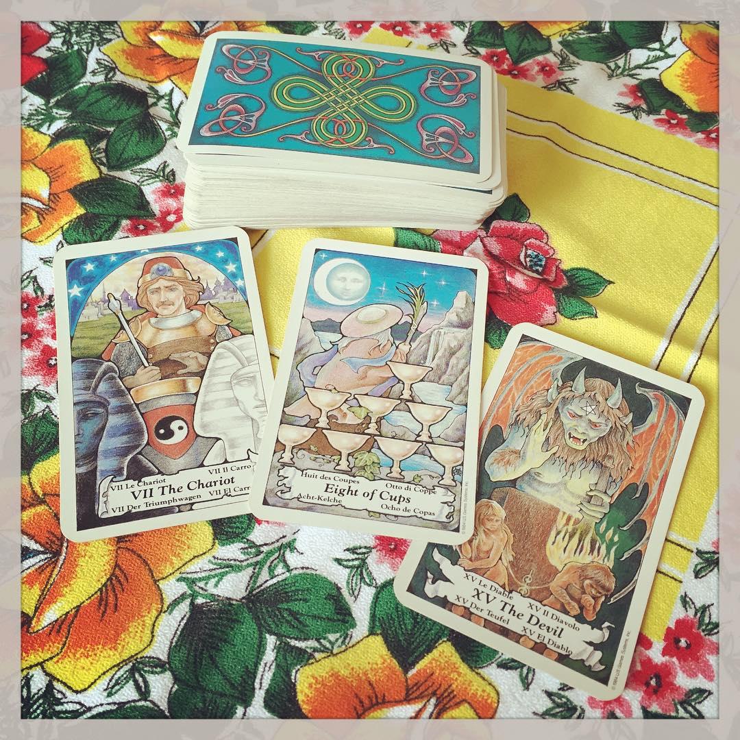 Hanson-Roberts Tarot Deck 3
