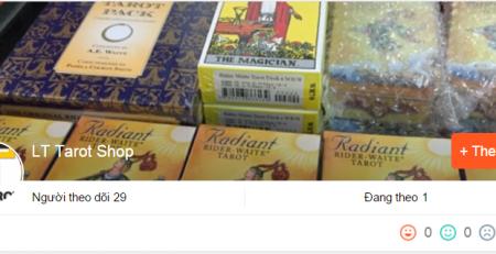 LT Tarot - Bài Tarot gốc giá rẻ
