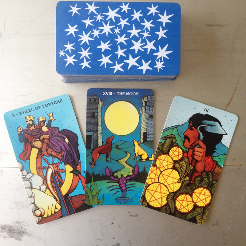 Morgan-Greer Tarot in a Tin 2