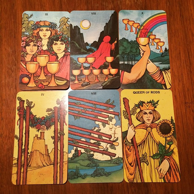 Morgan-Greer Tarot in a Tin 6
