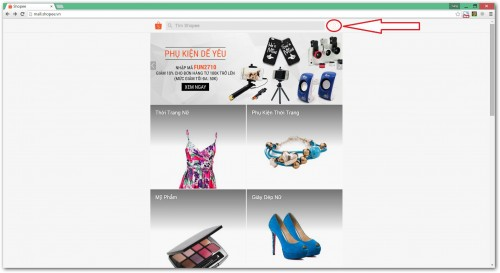 Hướng dẫn cách mua hàng trên Shopee 1