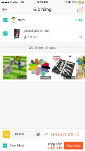 Hướng dẫn cách mua hàng trên Shopee 6