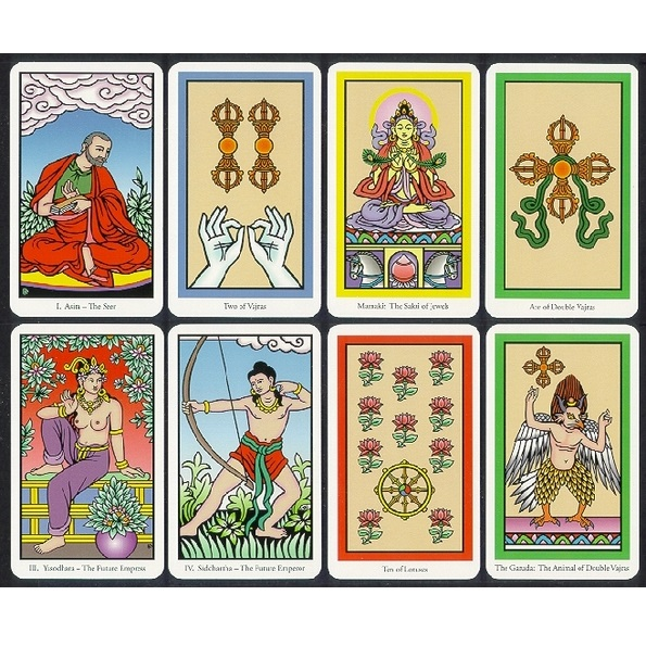 The Buddha Tarot 3