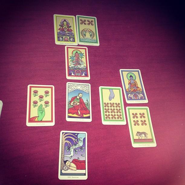 The Buddha Tarot 5