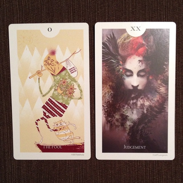 The Light Grey Tarot 3