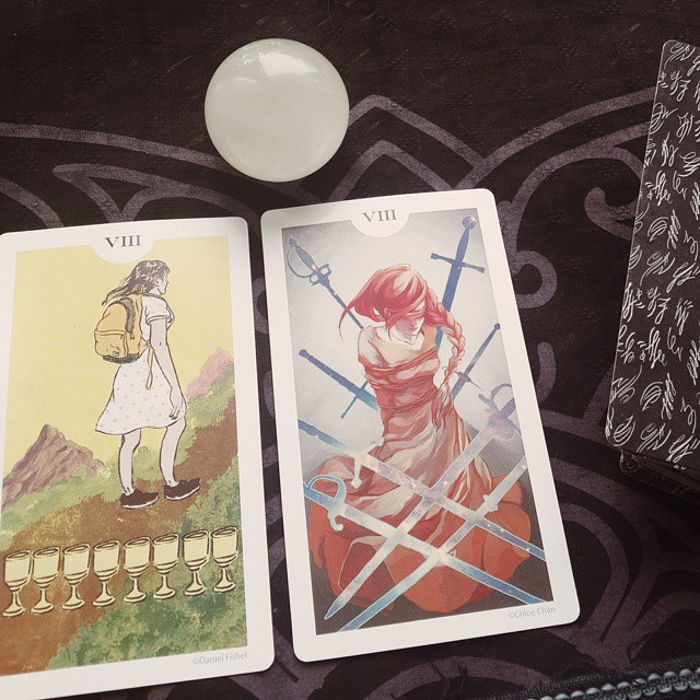 The Light Grey Tarot 5