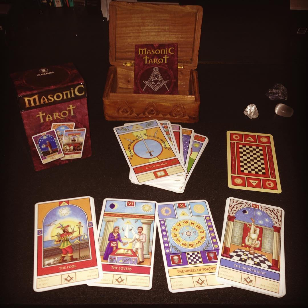 Masonic Tarot 4