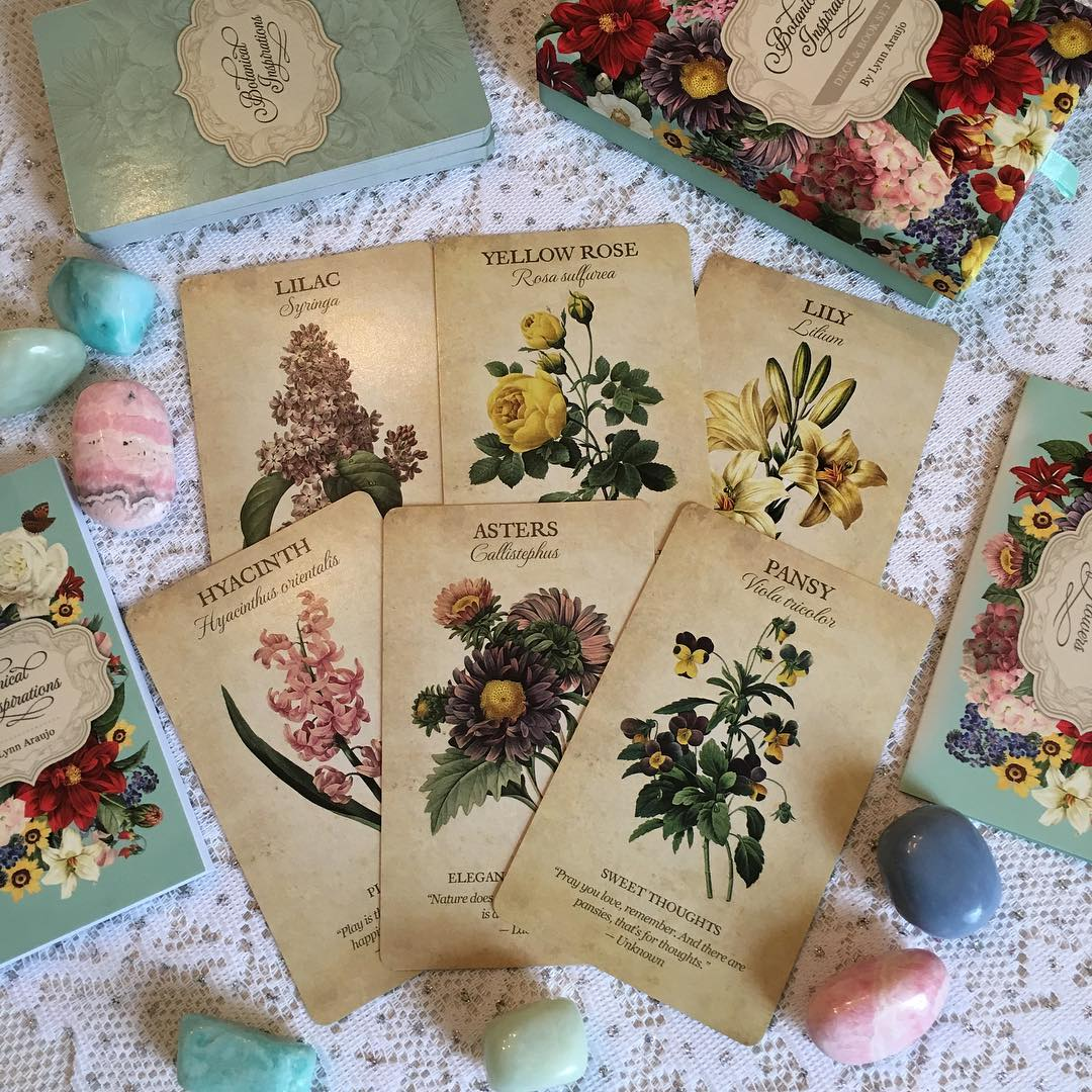 Botanical Inspirations Deck Book Set 2