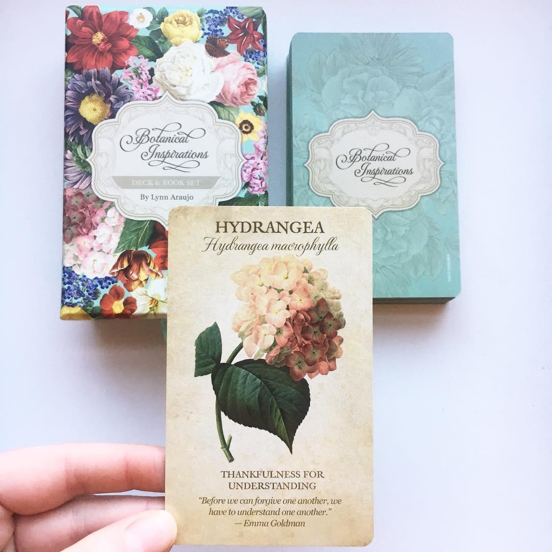 Botanical Inspirations Deck Book Set 5