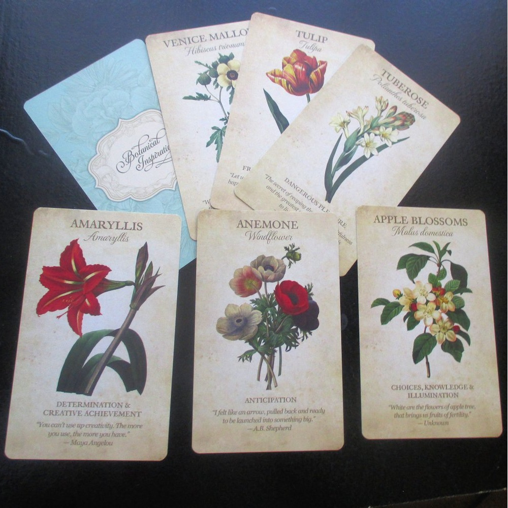 Botanical Inspirations Deck Book Set 6