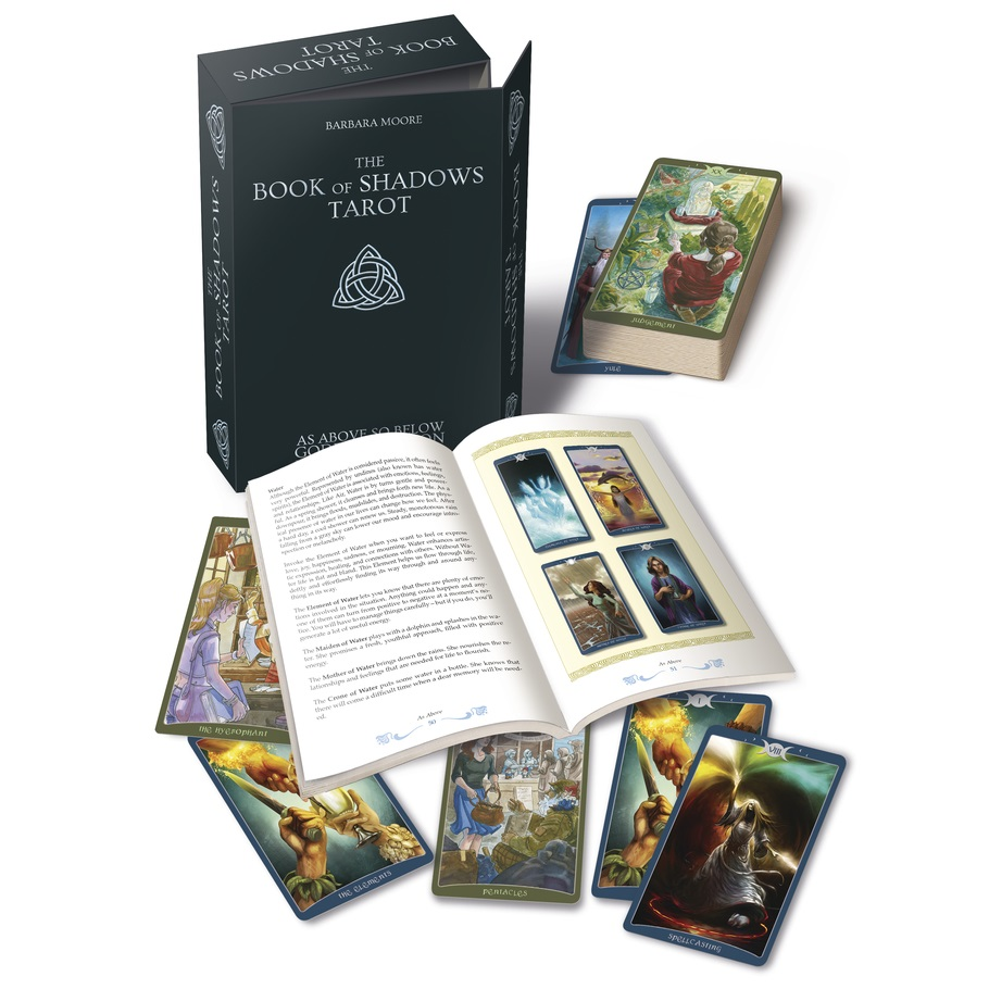 Book of Shadows Tarot Complete Kit