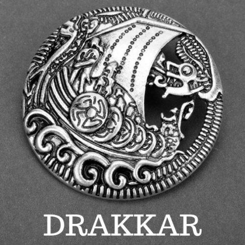 Huy hiệu Drakkar