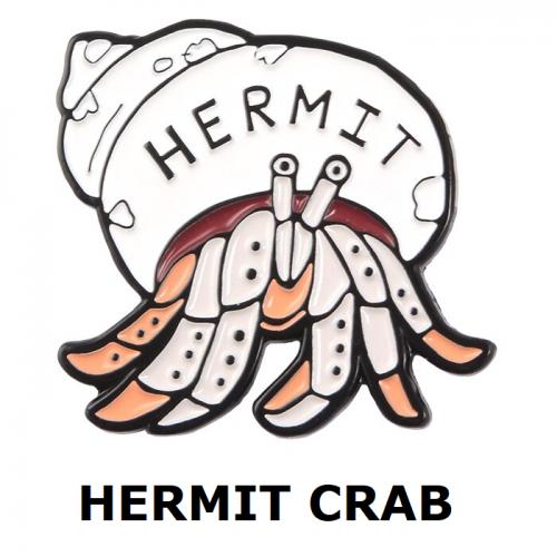 Huy hiệu Hermit Crab