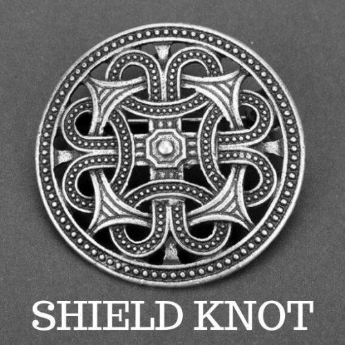 Huy hiệu Shield Knot