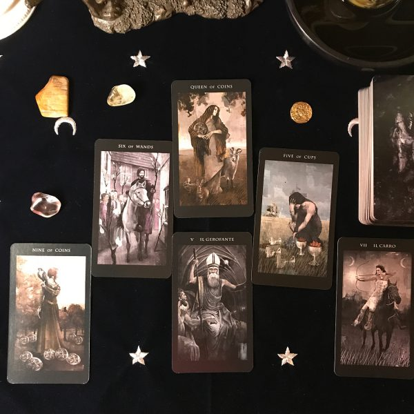 The Darkness of Light Tarot 3