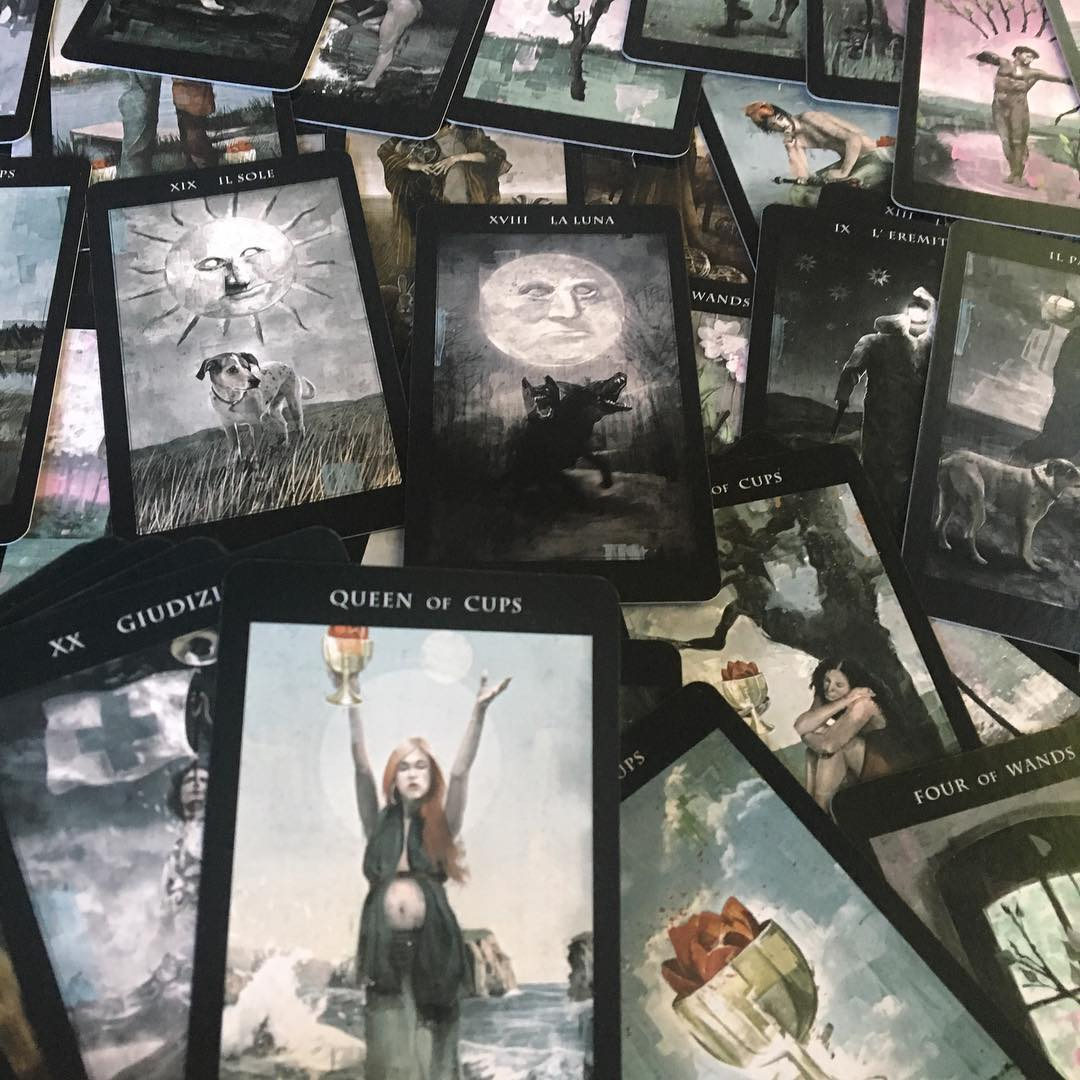 The Darkness of Light Tarot 5