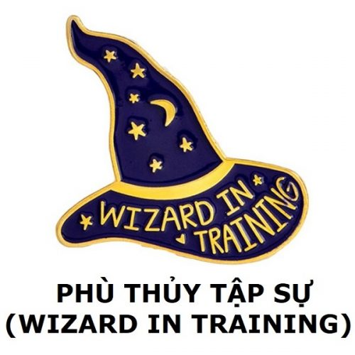 Huy hiệu Wizard in Training