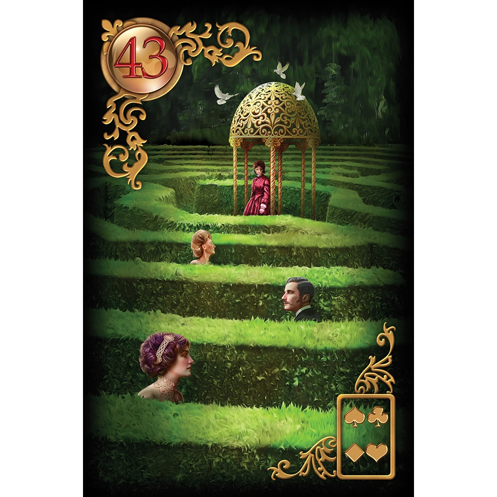 Gilded Reverie Lenormand Expanded Edition 5