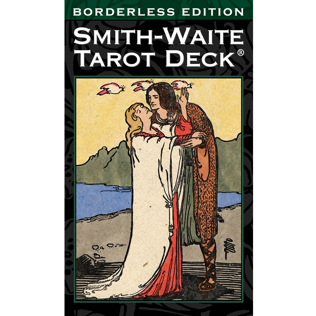 Smith Waite Tarot Deck Borderless